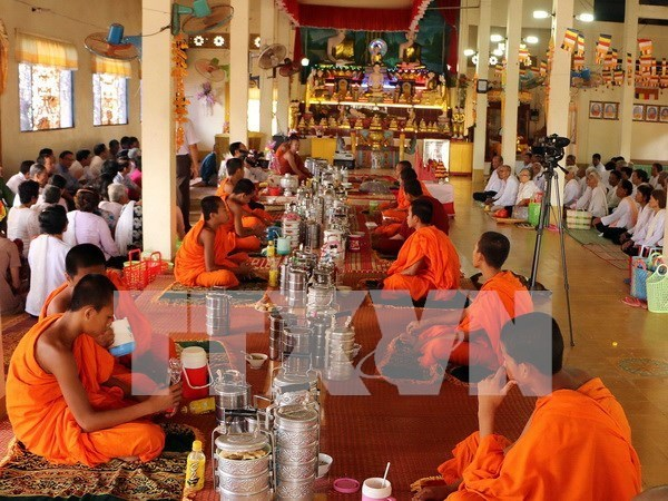 Ethnic community celebrates traditional festival at home hinh anh 1