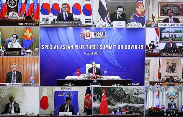 Joint Statement of Special ASEAN Plus Three Summit on Coronavirus Disease 2019 hinh anh 1