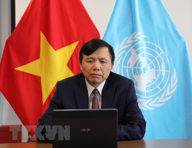Vietnam lauds implementation of peace agreement in Colombia hinh anh 1