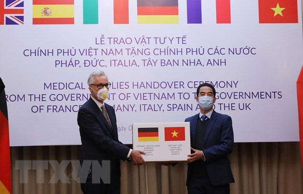 German foreign ministry appreciates Vietnam's support in COVID-19 fight hinh anh 1