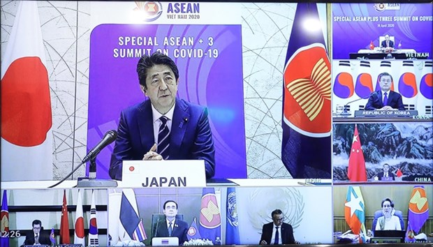 Cooperation between ASEAN and East Asian nations is key to COVID-19 combat hinh anh 1