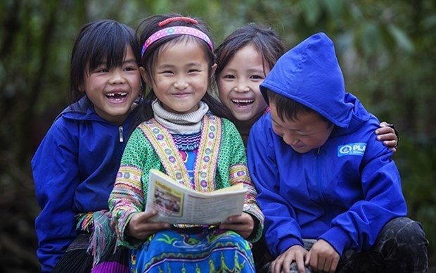 Plan Int'l Vietnam begins project to support ethnic minority children amid COVID-19 hinh anh 1