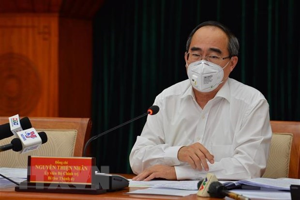 HCM City Party Committee convenes 40th meeting hinh anh 1