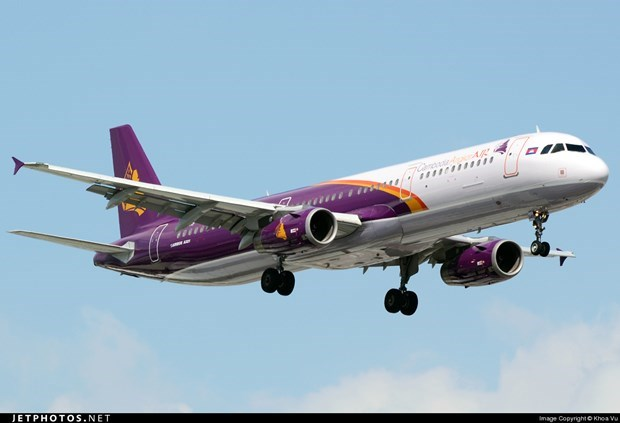 Cambodia: Air passenger numbers drop over 90 percent due to COVID-19 hinh anh 1