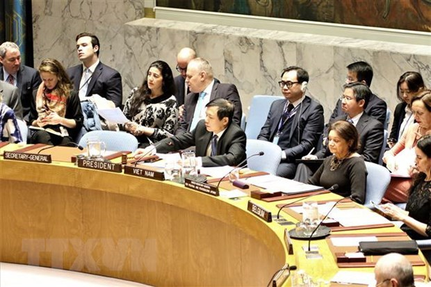 Vietnam completes report on UNSC presidency month hinh anh 1