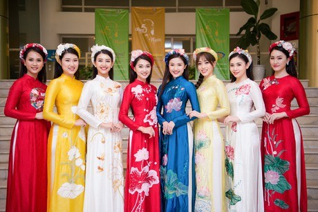 Ao Dai design contest honours national costume hinh anh 1