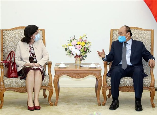Vietnam pledges assistance to Cuba over COVID-19 combat: PM hinh anh 1