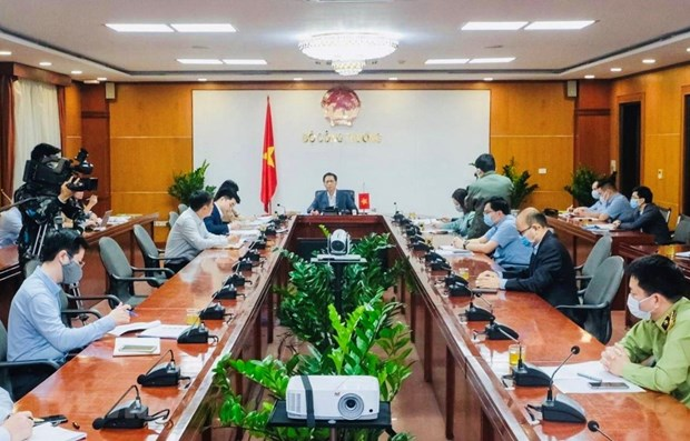 Vietnamese, Chinese officials discuss maintaining trade hinh anh 1