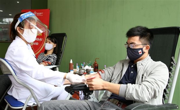 Youth Federation launches blood donation drive hinh anh 1