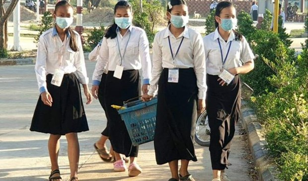 COVID-19: Cambodia extends school closure hinh anh 1