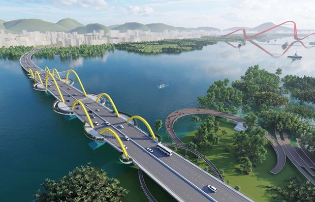 Quang Ninh to start work on bridges over Cua Luc Bay this month hinh anh 1