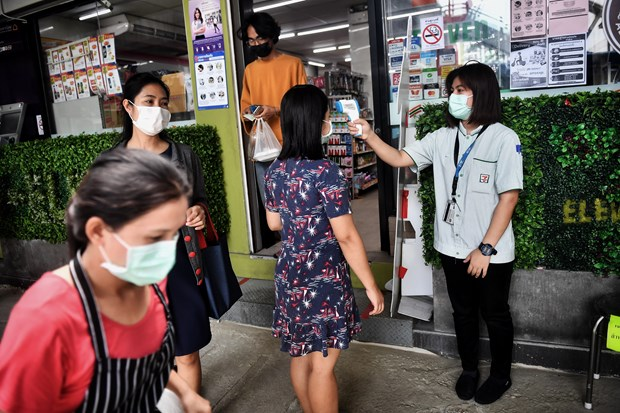 Thailand reports no new deaths for third consecutive day hinh anh 1