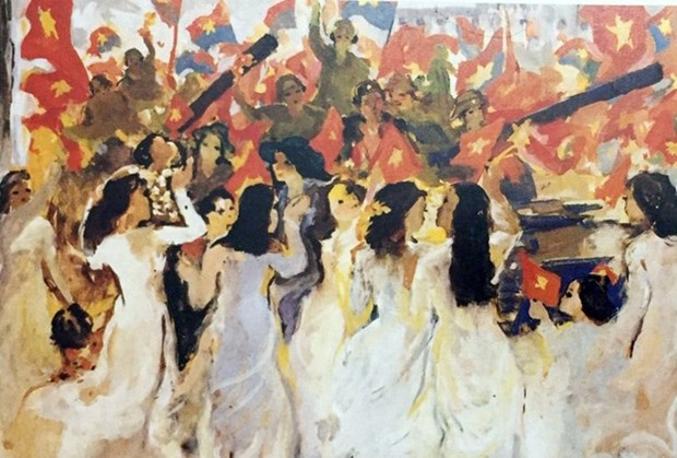 Exhibition showcasing reunification art available to view online hinh anh 1