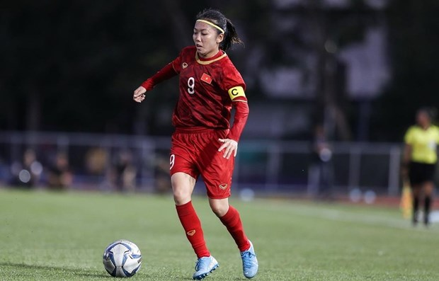 Female striker joins AFC's campaign against COVID-19 hinh anh 1