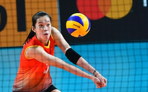 Vietnamese volleyball star gets offer to renew deal with Japanese club hinh anh 1