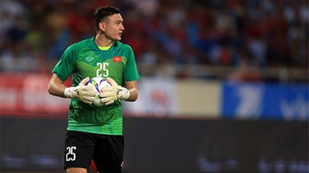 Vietnam's No 1 keeper may miss chance to defend AFF Cup title hinh anh 1