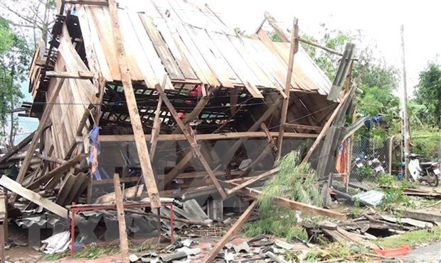 Three killed as thunderstorm hits northern localities hinh anh 1