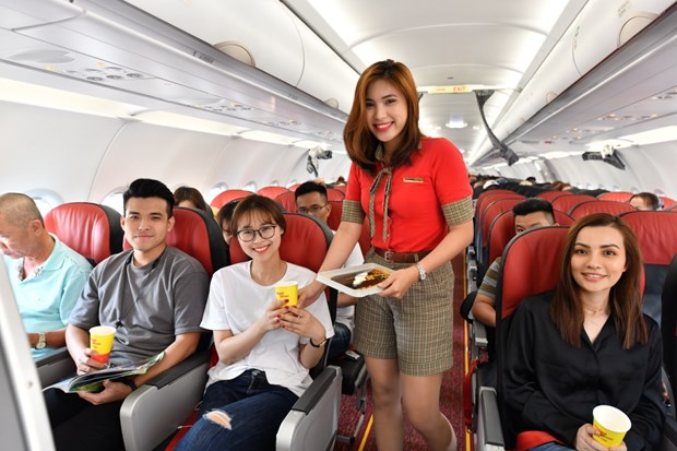 Thai Vietjet offers promotional tickets for flights after pandemic hinh anh 1