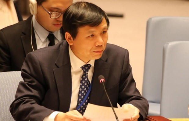 Vietnam calls for int'l cooperation among youth at UNSC meeting hinh anh 1
