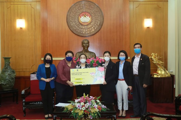 Online music programme raises 55,300 USD for COVID-19 combat hinh anh 1