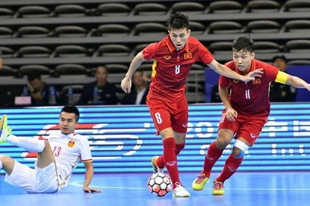 Vietnam futsal team appear in top 10 teams in Asia hinh anh 1