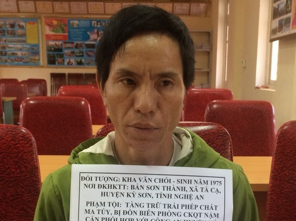 Drug trafficker arrested in Nghe An hinh anh 1