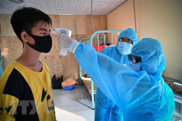 Vietnam records no new community COVID-19 infection for 18 straight days hinh anh 1