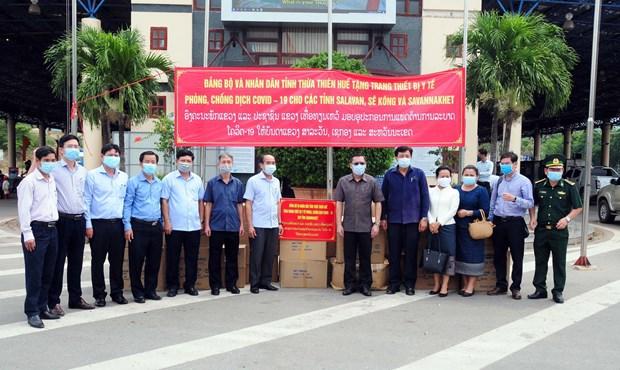 Thua Thien-Hue provides medical equipment to Laos' Savannakhet province hinh anh 1