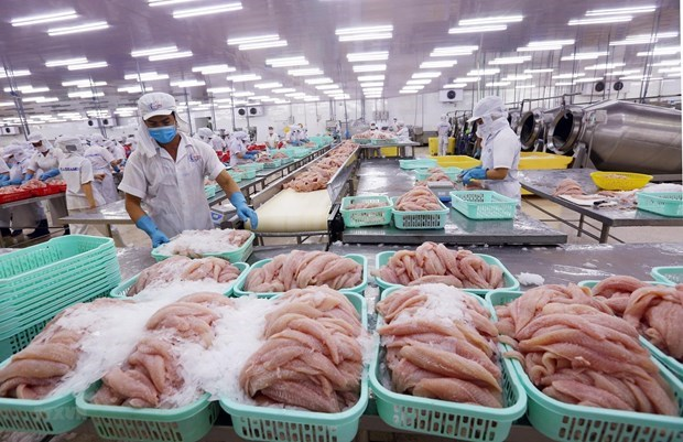 Four-month fisheries exports down 10 percent hinh anh 1