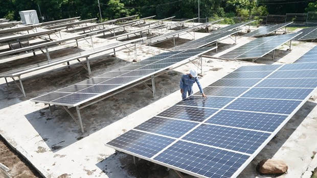 Indonesia's solar panel industry faces challenges amid COVID-19 hinh anh 1