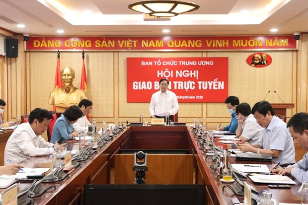 Party organisation sector to press on with personnel preparations for all-level congresses hinh anh 1