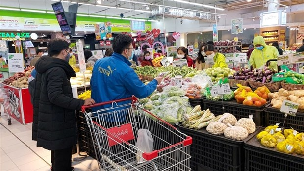 HCM City's retail sales increase sharply during holidays hinh anh 1