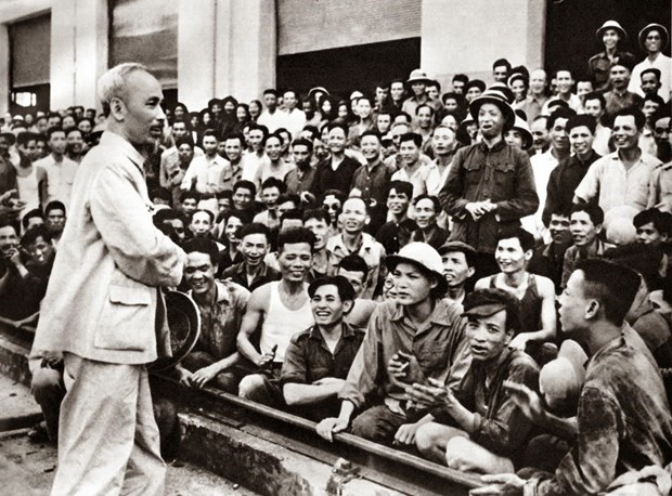 Symposium spotlights President Ho Chi Minh's life and career hinh anh 1