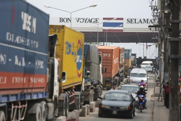 Thailand's cross-border trade down 7.6 percent in Q1 hinh anh 1
