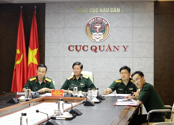ASEAN military medical forces discuss COVID-19 fight hinh anh 1