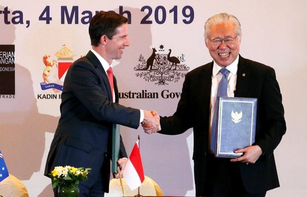 Indonesia-Australia comprehensive economic deal to take effect from July 5 hinh anh 1
