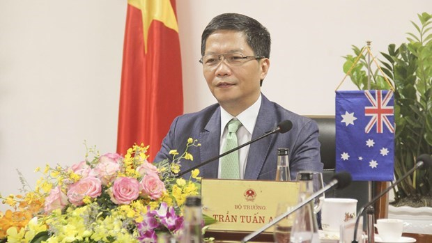 Vietnam vows to remove obstacles facing Australian exporters amid COVID-19 hinh anh 1