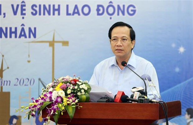 Action month for workplace safety and hygiene, worker's month launched hinh anh 1