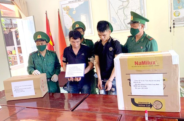 Suspected drug traffickers arrested in An Giang province hinh anh 1