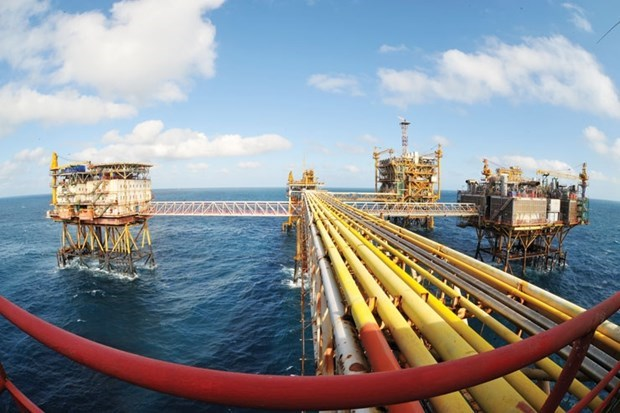 PetroVietnam's crude oil output in Jan-April exceeds set target hinh anh 1