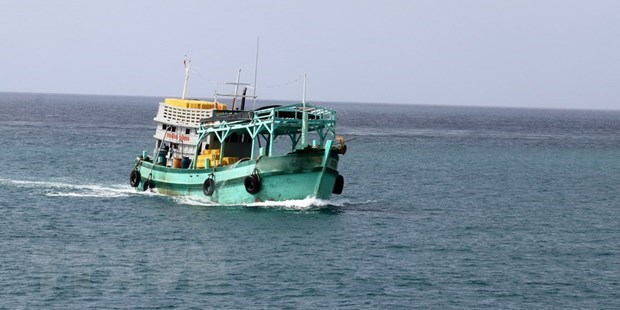 Philippine ship owner compensates for Vietnamese fishing boat collision hinh anh 1