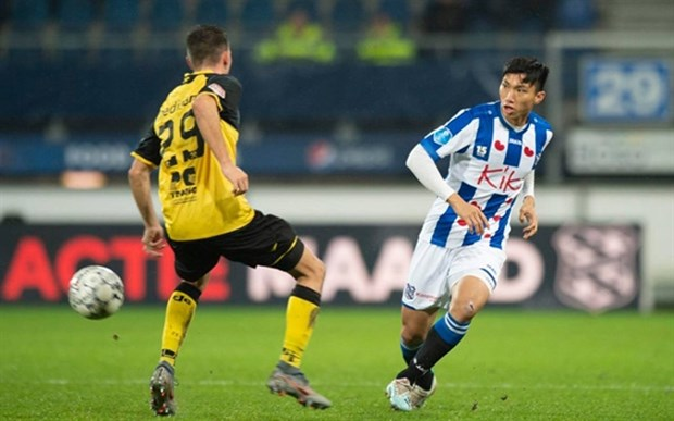 Vietnamese defender's contract with Heerenveen to be discussed hinh anh 1