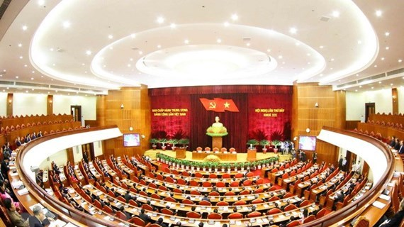 Party Central Committee convenes 12th plenum hinh anh 1