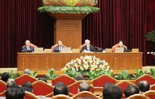 Party leader outlines key tasks for 12th plenum of Party Central Committee hinh anh 1