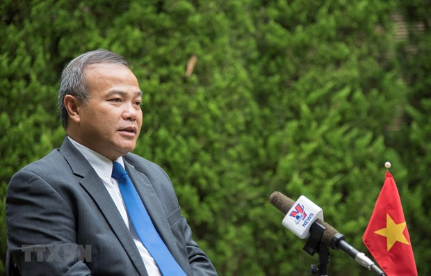 Vietnamese in Japan staying calm, supporting one another during pandemic: Ambassador hinh anh 1