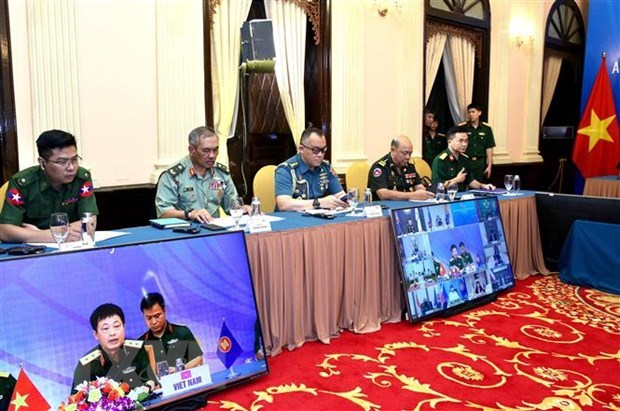 ADSOM Working Group convenes teleconference hinh anh 1