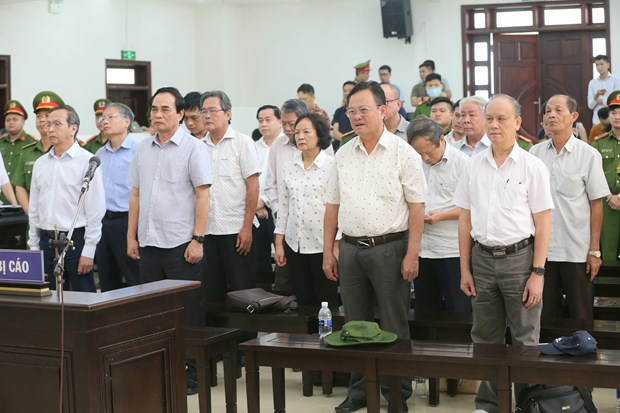 Appeal court announces verdict for case involving ex-leaders of Da Nang hinh anh 1