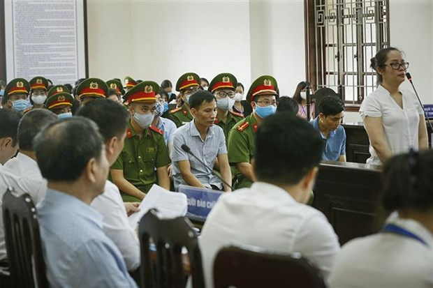 First instance trial on exam cheating scandal in Hoa Binh opens hinh anh 1