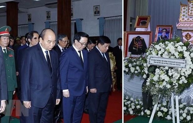 Vietnam extends condolences to Laos over former PM's passing hinh anh 1