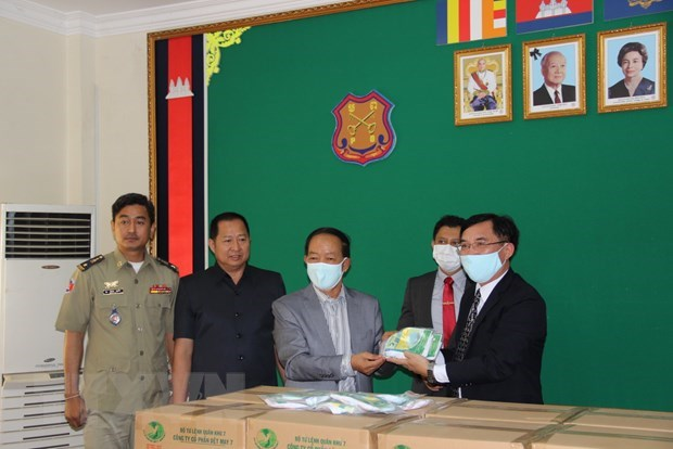 Vietnam helps Cambodian detention centres battle COVID-19 hinh anh 1